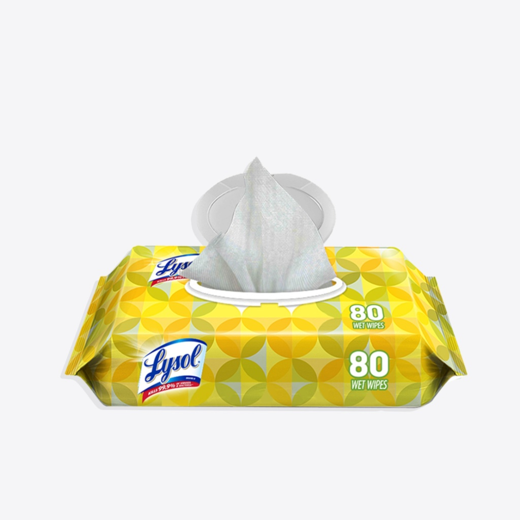 Lysol 80ct Soft Pack